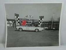 "1963 Indianapolis 500 Chrysler 300 Convertible Pace Car 8"" x 10"" Photo"