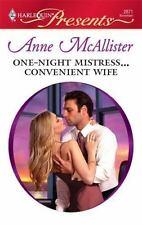 One-Night Mistress...Convenient Wife