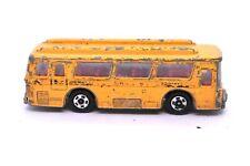 Tomica Fuso Hato Yellow School Bus #1 Made In Japan Mitsubishi 1/147 Vintage