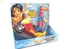 DC Super Hero Girls Wonder Woman and Motorcycle Figure and Vehicle