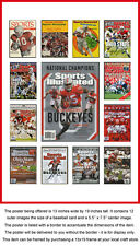 Ohio State Buckeyes Sports Illustrated Cover Collection Poster