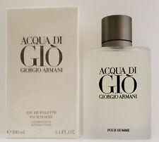 Giorgio Armani Acqua Di Gio 3.4oz / 100 ml Men's Eau de Toilette Spray New