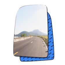Vw Crafter Wing Mirror Glass Slide On Passenger Side Nearside Upper Heated 06-16