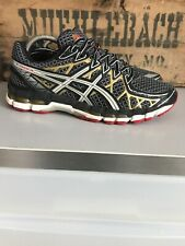 big sale f74f9 e060b ASICS Gel Kayano 20 Anniversary Running Shoes Men s Size 9.5 T3N4N Black  Gold