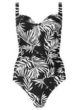 P135.53 Ex Marks and Spencer Secret Slimming Padded Swimsuit Size 24