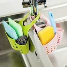 Kitchen Saddle Strainer Caddy Sink Storage Sponge Rack Holder Organizer