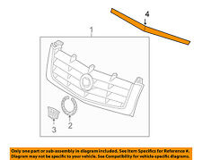 Cadillac GM OEM 02-06 Escalade Grille Grill-Molding Trim 15136011