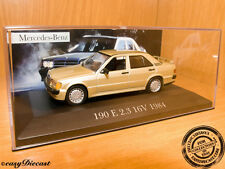 MERCEDES 190E 190-E 2.3 16V. METALLIC GOLD 1984 1:43