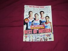 RADIO TIMES 4-10 AUG 2012 TEAM GB OLYMPICS FRONT COVER VG/EXCELLENT CONDITION