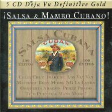 SALSA & MAMBO CUBANO - CELIA CRUZ, IRAKERE, MACHITO, LOS VAN VAN 5 CD NEUF