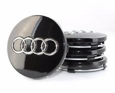4 Black Emblem Wheel Center Cap 4B0601170 60mm FOR AUDI A2 A3 A4 A6 A8 S4 S6 RS4
