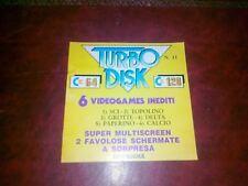 Libretto TURBO DISK 64 n.11 x Commodore 64 numero 12 originale c64
