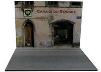 Diorama Garage du Square - 1/18ème - #18-2-F-F-002