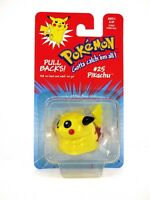 Pokemon Pullback Vintage 1999 Official Licence Hasbro Retro Novelty Toy New