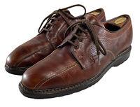 Allen Edmonds Mapleton Blucher Lace Up Dress Shoes Brown Men's Size Us 12 D