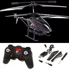 S977 3.5CH Radio Remote Control RC Metal Gyro Helicopter with Camera Airplane