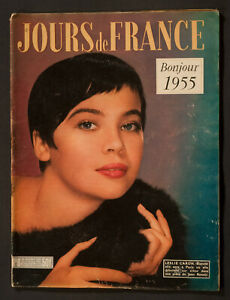 'JOURS DE FRANCE' VINTAGE MAGAZINE NEW YEAR ISSUE LESLIE COVER 30 DECEMBER 1954