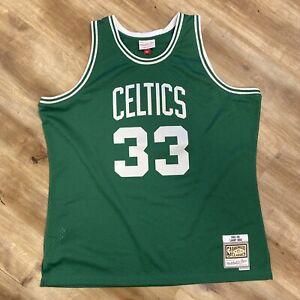 LARRY BIRD BOSTON CELTICS MITCHELL NESS SWINGMAN NBA BASKETBALL JERSEY XXL