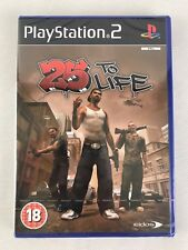 PS2 25 To Life (2007), UK Pal, Brand New & Factory Sealed