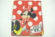 Baby Blanket Minnie Mouse Polka Dot Shopping Can Be Personalized 28x45