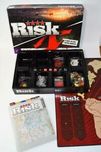 RISK Game of Strategic Conquest Board Game - Complete - 2008 Strategy Boardgame
