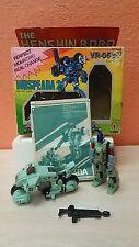 qHENSHIN ROBO Mospeada VR-052-F Armor Bike GAKKEN Robotech Anime S.Bernard