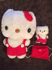 Vintage 1976 Hello Kitty Sanrio Plush Doll Collectible