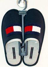 Tommy Hilfiger Haus Schuhe Logo blau Herren  Gr 43//44 Neu 49€