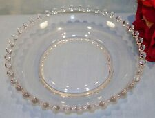 Imperial Candlewick Crystal Elegant Glassware Individual Salad Bowl 6 1/2 in.