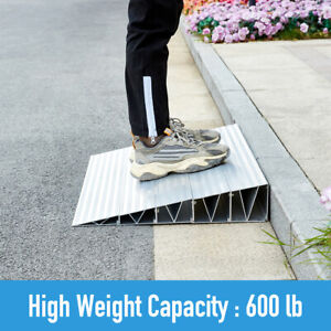 Threshold Ramp Portable Home Access for Mobility Wheelchair Scooters Rise Power
