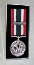 Canadian - The Special Service Medal (SSM) & HUMANITAS Bar Full Size