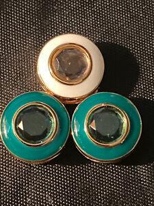 *Lot of 3 Pandora Shine Reflexions Circle Clip Charms #767891