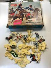 AIRFIX HO 00 S43 WATERLOO BRITISH CAVALRY HUSSARS IN BOX COME DA FOTO