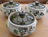 Denby Shamrock Covered Soups Set of 3    £19.99 ( Post Free UK )