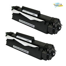 2Pack CB435A BK Toner Cartridge For HP 35A LaserJet P1004 P1005 P1006 P1009