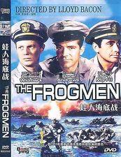 The Frogmen All Region DVD Richard Widmark, Dana Andrews, Gary Merrill NEW UK