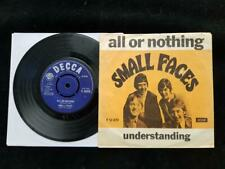 SMALL FACES All Or Nothing 45 DANISH UK 1st Press DECCA F12470 EX+