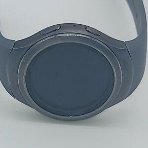 Samsung Galaxy Gear S2 42mm Stainless Steel Case Dark Gray -