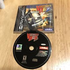 PS1 Vigilante 8 2nd Offense Complete Authentic & Tested- Nice!! See Pics!!