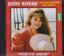 Jenni Rivera Con Los Viajeros del norte Por un Amor CD