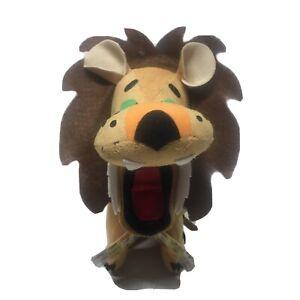 "R.Dakin&Co.Dream Pets Ludicrous Lion 7""Plush Yellow&Brown Stuffed Animal Toy NWT"