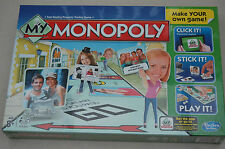 My Monopoly-Brand New and Factory Sealed créer votre propre Monopoly Board!!!