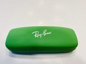 Original Ray Ban Kids Eyeglasses Sunglasses Hard Travel Case GREEN