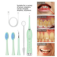 Electric Tooth Cleaner Ultrasonic Oral Irrigator Teeth Stain Dental Scaler Tools
