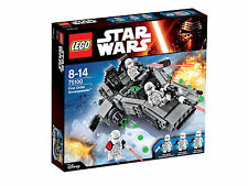 Lego Star Wars First Order Snowspeeder 75100 nib factory sealed