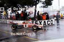 Jacky Ickx Ferrari 312 B2 Monaco Grand Prix 1972 Photograph 3