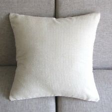 """Beige Corduroy Corn Kernels Pillow Case Sofe Decor Cushion Cover 43cm 17"""" Pt156"""