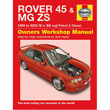 Haynes Rover 45 Mg Zs 99 05 V To 55 Reg Petrol And Sel