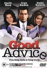 Good Advice CHARLIE SHEEN (DVD, 2003) BRAND NEW