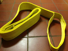 NYLON CRANE LIFTING SLING EE1-903x18 WRECKER AXLE TOW DOLLY SHACKLE CLEVIS BOAT